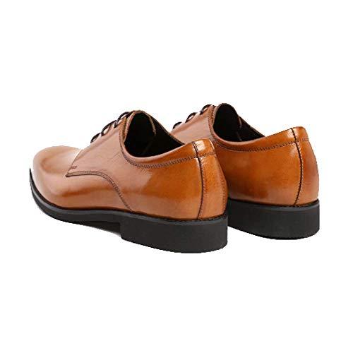 Casual Scarpe Americano Moda Scarpe Indossare da Sposa da Black Antiusura da Scarpe Stringate Lavoro Comable Stile Europeo Scarpe Basse E rqwOIr7