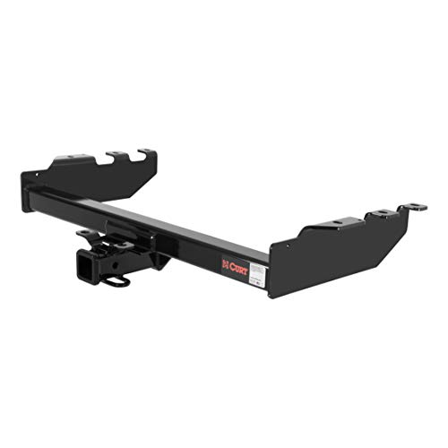 CURT 14332 Class 4 Trailer Hitch Black 2-Inch Receiver for Select Chevrolet Silverado, GMC Sierra 1500, 2500 ()