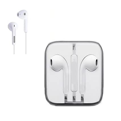 Mp® Supreme Quality Earphones/Headphones/Earbuds With Stereo Mic&Remote Control Compatible With All Phones Including Sony, Samsung, Lg, Huawei, Htc, I Pad 4, I Pad Mini, I Pod And I Phone 4/5/5 C/5 S/6/6 Plus   Elegant Design And Extreme Wearing Comfor..... by Amazon
