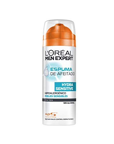 Espuma para afeitar, Men Expert L'Oréal Paris, 200 ml