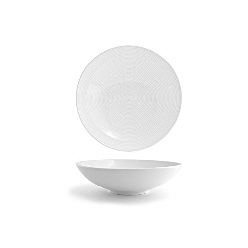 Front of the House DBO030WHP22 spiral Wide Bowl, 3
