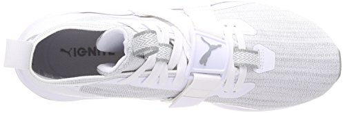 Puma Ignite Evoknit 2, Scape per Sport Outdoor Uomo Bianco (Puma White-quarry)