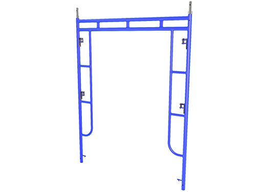 Bon 14-278 Walk-Through Scaffold End Frame, 6-Feet 6-Inch by 6-Feet, Made in USA by BON