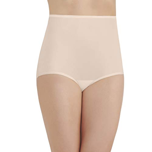 (Vanity Fair Women's Perfectly Yours Ravissant Tailored Nylon Brief Panty - Size XXXX-Large / 11 - Fawn)