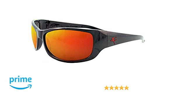 d814d8cda3f3c Amazon.com  Fatheadz Eyewear Men s The Boss V2.0 Polarized Wrap Sunglasses  Black 71 mm  Clothing