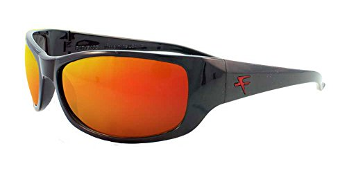 acb9966decd Fatheadz Eyewear Men s The Boss V2.0 Polarized Wrap Sunglasses Black 71 mm