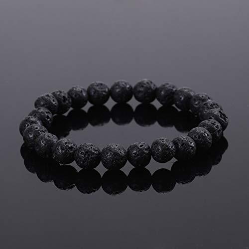 FBSL Bracelet Tiger Eye Bracelets Bangles Elastic Rope Chain Natural Stone Friendship Bracelets for Women and Men Jewelry