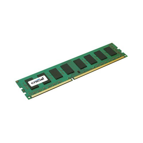 Crucial CT51272BA1067 4GB 240-pin pc3-8500 DDR3 1066mhz ECC desktop memory module - NEW - Retail - CT51272BA1067