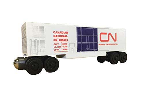 Whittle Shortline Railroad - Manufacturer Canadian National Refrigerator Train Car