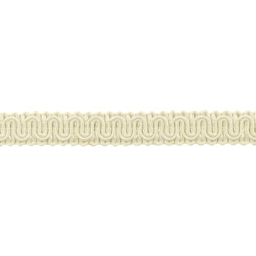 DÉCOPRO 12 Yard Value Pack|5/8 inch Basic Trim Decorative Gimp Braid|Style# 0058SG|Color: Ivory/Ecru - A2|36 Ft / 11 Meters by DÉCOPRO