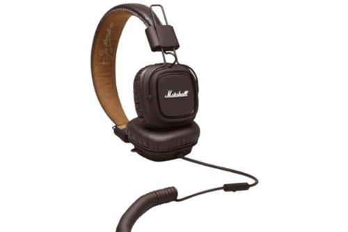 Marshall Headphones M-ACCS-00161 Major Headphones, Brown