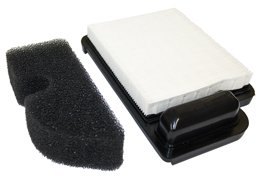 N2 C-1155 Air Filter and Pre-Filter for Cub Cadet LTX 1040, LT1045, LTX 1045, LT1042, LT1040, I1046, I1042 (Only When Equipped With An Air Filter Shaped Like This One)
