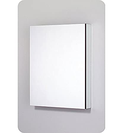 Robern CB PLM2430WBLE Pl Series Left Side Flat Bevel Mirror Medicine Cabinet  With