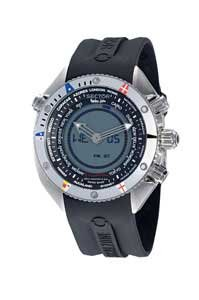 Sector R3251168025 43mm Stainless Steel Case Black Rubber Mineral Men's Watch
