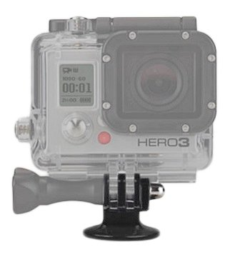 SSE Accessory Kit for GoPro HD HERO3+, HERO3 (Black, Silver & White). Includes Chest Mount + Head Mount + 2 Extended Life Replacement Batteries + AC/DC Rapid Home & Travel Charger + Gripster + Bobber Handle + Tripod Adapter + Microfiber Cleaning Cloth by SSE (Image #4)