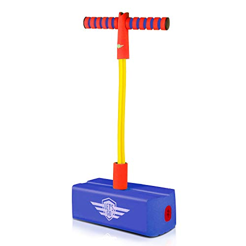 Indoor Toys for 3-12 Year Old Boys Girls Active Kids, Top Toy Foam Pogo Jumper Stick for Kids Adults 3-12 Year Old Teen Girl Boy Gifts Birthday Gifts for 3-12 Year Old Boys Girls Blue TTFPJ11 (Best Pogo Stick For 12 Year Old)
