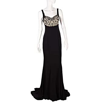 Ransa Black Mixed Special Occasion Dress For Women