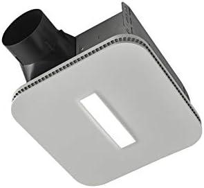Broan-NuTone AE110LK Flex Bathroom Exhaust Ventilation Fan with LED Light, Energy Star Certified, 110 CFM, 1.0 Sones, White