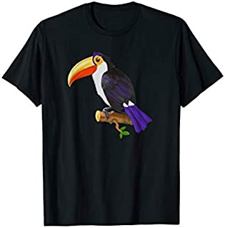 Toucan shirt - Tropical Bird T-shirt | Size S - 5XL