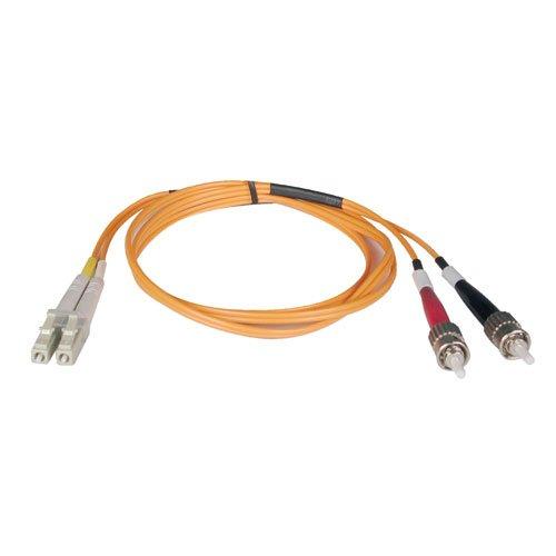 Tripp Lite Duplex Multimode 62.5/125 Fiber Patch Cable (LC/ST), 8M (26-ft.)(N318-08M)
