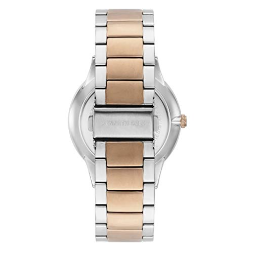 Kenneth Cole New York Women's DIAMOND Japanese-Quartz Stainless-Steel Strap, Two Tone, 22 Casual Watch (Model: KC50196006)