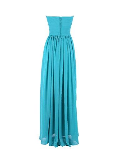 YiYaDawn -  Vestito  - linea ad a - Donna turchese 44