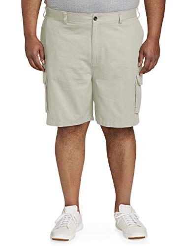 Amazon Essentials Men's Big & Tall Cargo Short, Khaki, 52