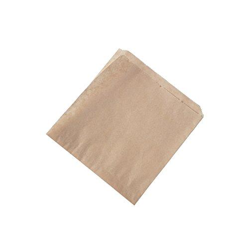 BIOZOYG Bolsas Papel para Snacks I Papel parafinado Hamburguesas I d/öner Bolsa Biodegradable compostables I Papel Antiadherente sin blanquear I Papel Burger Pack 15x16 cm i 2000 Piezas marr/ón