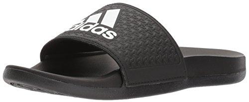 adidas Unisex-Kids Adilette Clf+ K Sandal,Core Black,White, Core Black,5 M US Big Kid