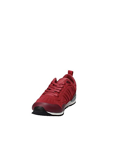 Tommy Homme Runner Basses Hilfiger Iconic Sneakers Rouge Neoprene qUrqPwH