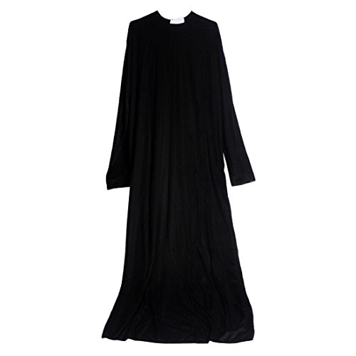 [Men's Cosplay Priest Costume SS-MSF01] (Priest Halloween Costume Deluxe)
