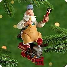 1 Santa (TOYMAKER SANTA #1 2000 Hallmark Ornament)