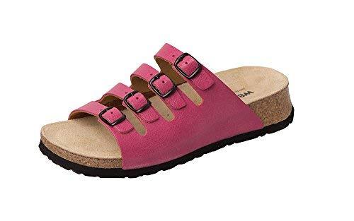 Donna Weeger Bio scarpe Rosa pantolette keil PBgqxwU8p