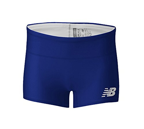 New Balance Dames Atletiek Boyshort - Ast Try Tm Royal