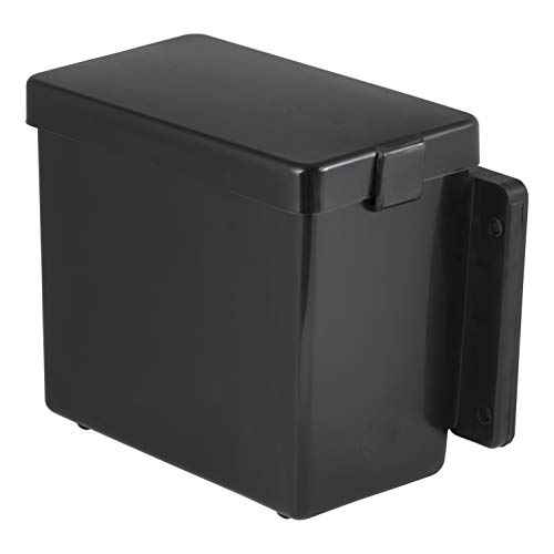 CURT 52022 6-Inch x 5-1/2-Inch x 3-1/4-Inch Lockable Trailer Breakaway Battery Case