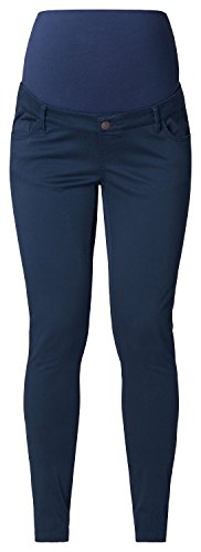 ESPRIT Maternity Pants OTB slim-Pantalones Mujer, Azul (Navy 400)
