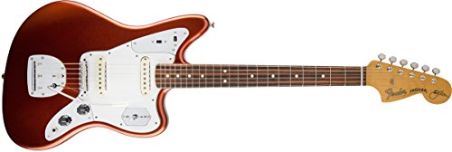 Kandy Series - Fender Johnny Marr Signature Jaguar Electric Guitar, Metallic Kandy Orange
