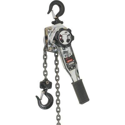 - Ingersoll Rand SLB1200-10 Silver Series 6-Ton 10-Feet Lift Lever Chain Hoist, Silver