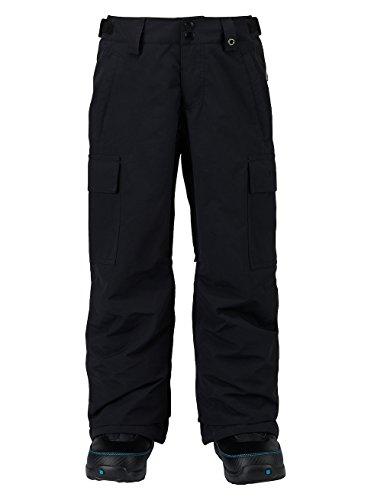 Burton Boys Exile Cargo Pants, True Black, X-Small by Burton