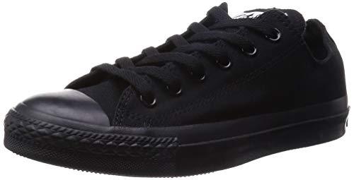 All Monochrome black Taylor Star Unisex Sneakers Nero Chuck Converse adulto q4z8x5E