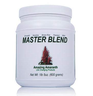 Masterblend is Green Superfood Powder, 600G, 28 Servings, Boost it with Your Favorite Juice Drink, Raw and Organic Foods in an Easy Way to Take Each Day, Great for Athletes, Packed with Vitamin C