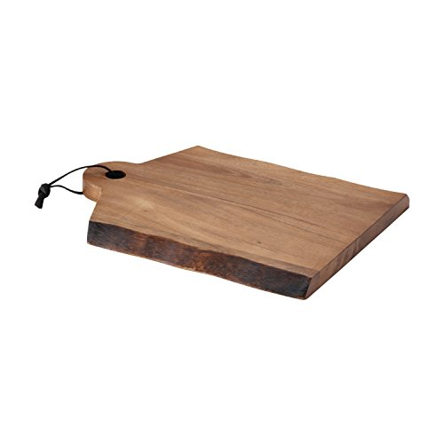 Rays Hanging - Rachael Ray Cucina Pantryware 14-Inch x 11-Inch Wood Cutting Board with Handle