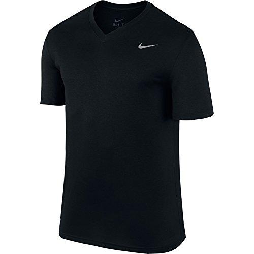 Men's Nike Legend 2.0 Training T-Shirt Black/Matte Silver Size X-Large