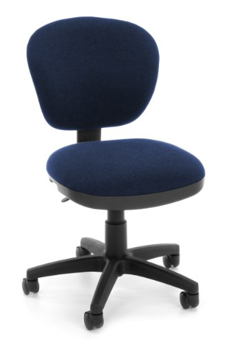 OFM 150-119-T Lite Use Computer Task Chair, Blue by OFM