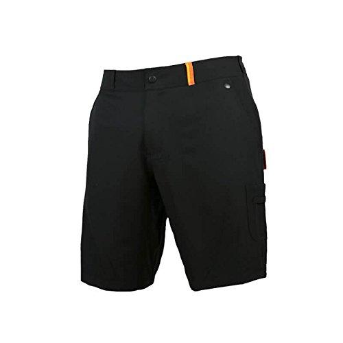 DUDE Clothing Tech Caddie Disc Golf Shorts - Black - 36