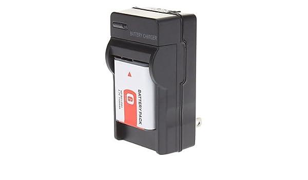 ZXM NP-BG1 NP-FG1 Batería con cargador para Sony DSC-T100 W100 ...