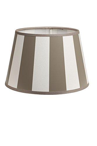 2 lampade da parete design intorno 20-15-13 cm KING taupe
