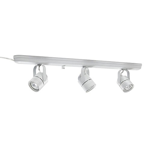 Lithonia Lighting LTKMSBK MR16GU10 3L MW M4 Mesh Back 3-Light Halogen Track Lighting Kit, 27