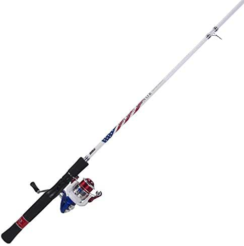 Zebco Folds Of Honor Med Spinning Combo, 6'