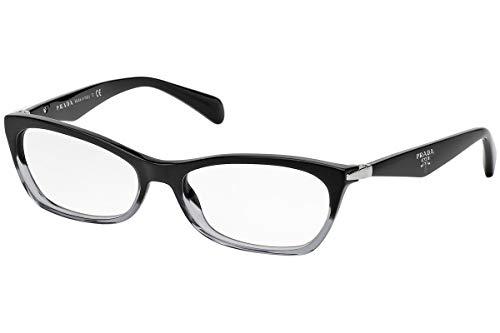NEW Prada Eyeglasses VPR 15P Black ZYY1O1 VPR15P ()